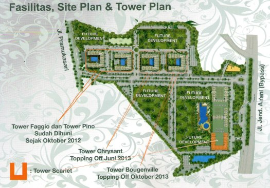 The Green Pramuka City  Master Plan